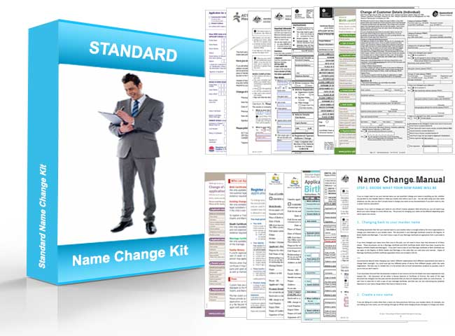 name change kit for changing your name